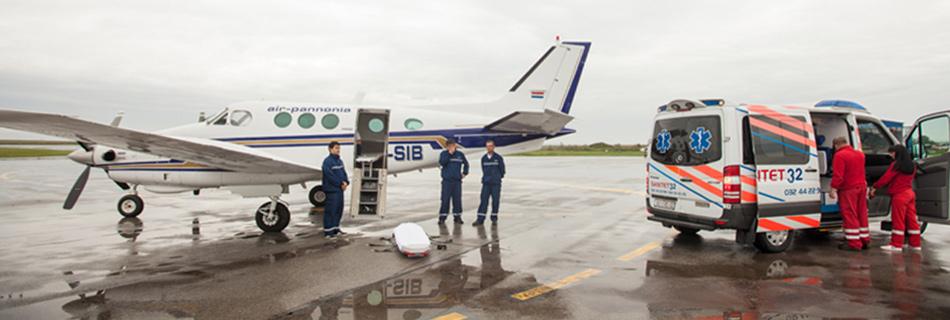 Légi betegszállítás